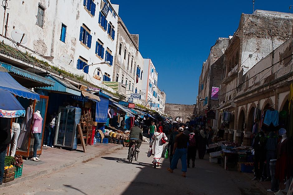 Zdjęcia z Maroka. Centrum Essaouiry