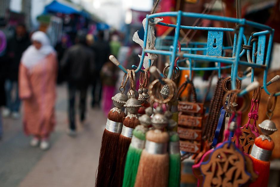 Targ w marokańskim mieście