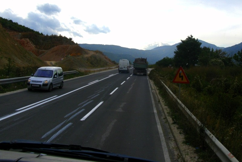 Autostop to czesto podróż TIRem