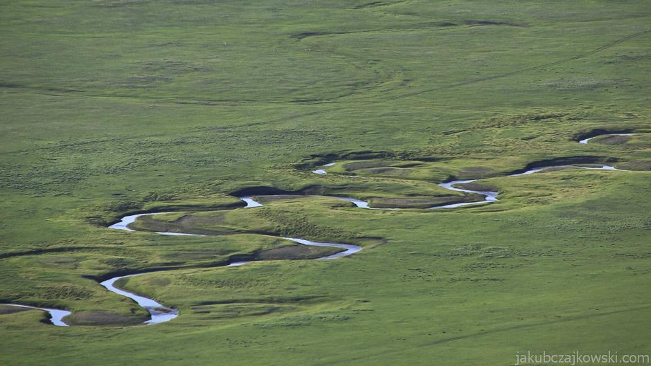 Rzeka w Mongolii