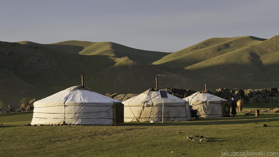 Okolice Tsetserleg w Mongolii