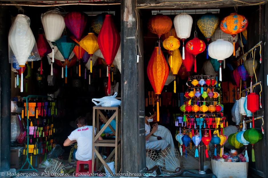 Warsztat lampionów w Wietnamie