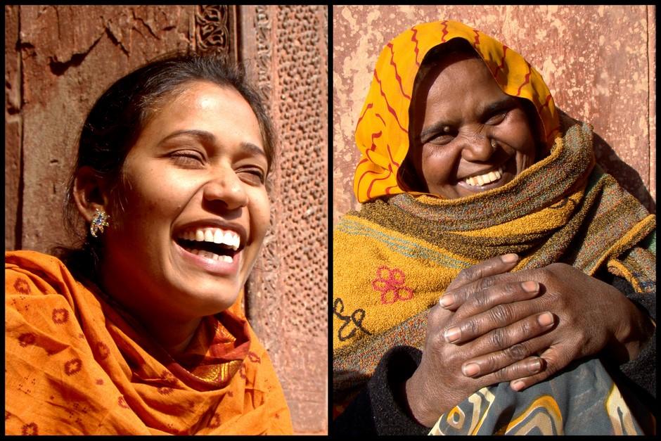 Hinduskie kobiety z Delhi