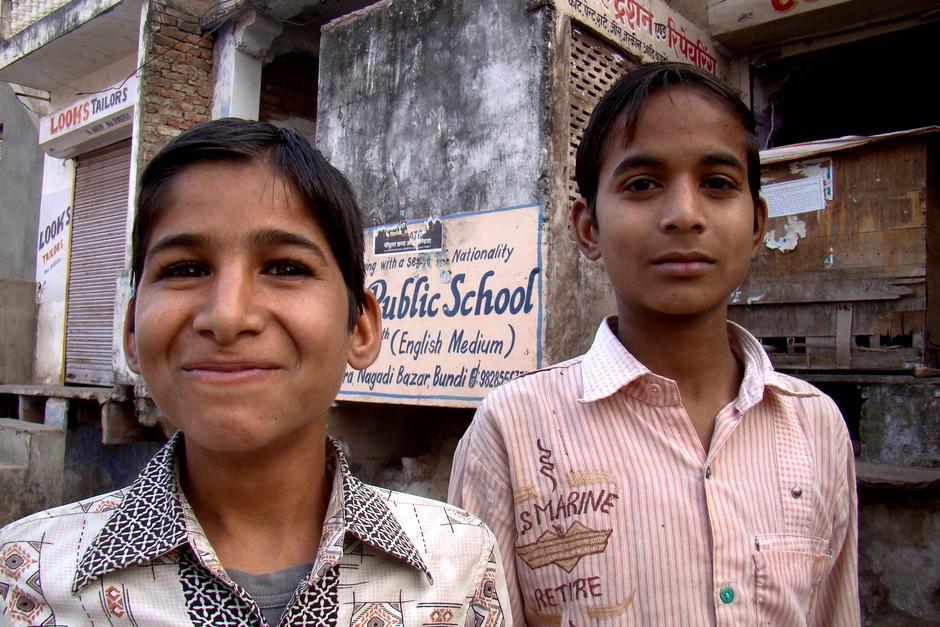 Dzieciaki z Indii