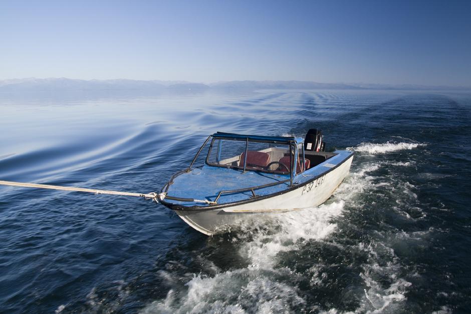 Podróż przez jezioro Bajkał - galeria zdjeć