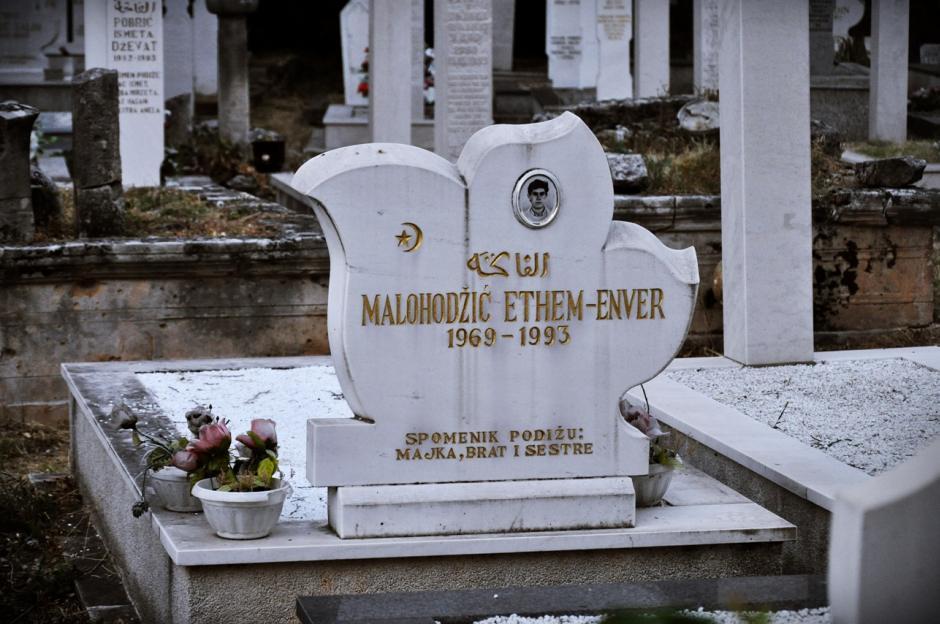 Muzułmański cmentarz w Mostarze