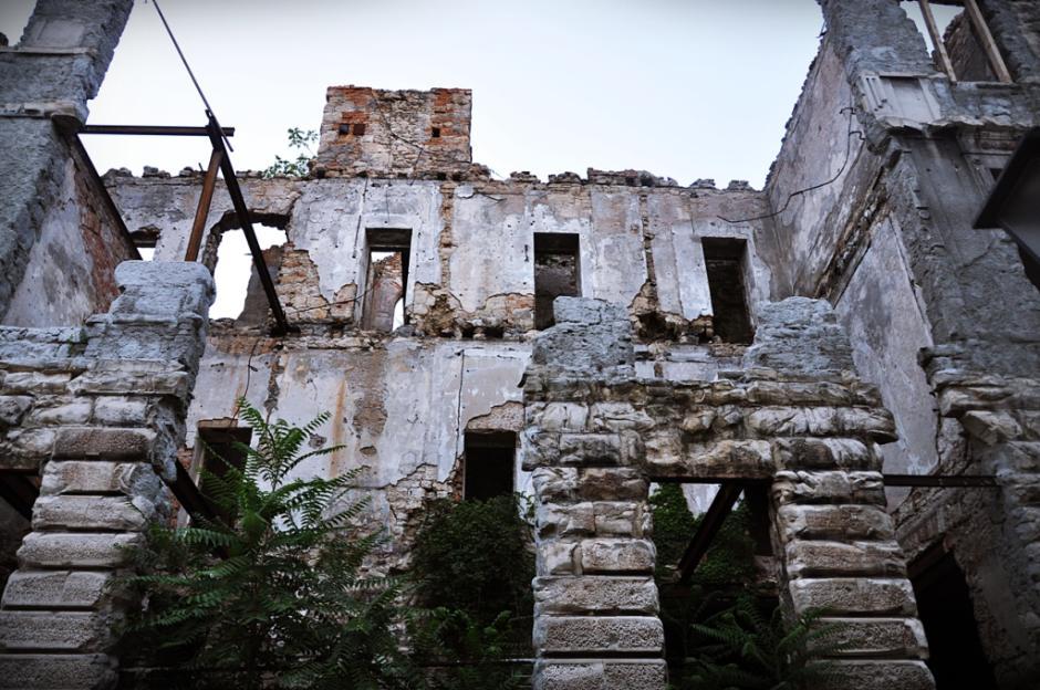Ruiny w Mostarze