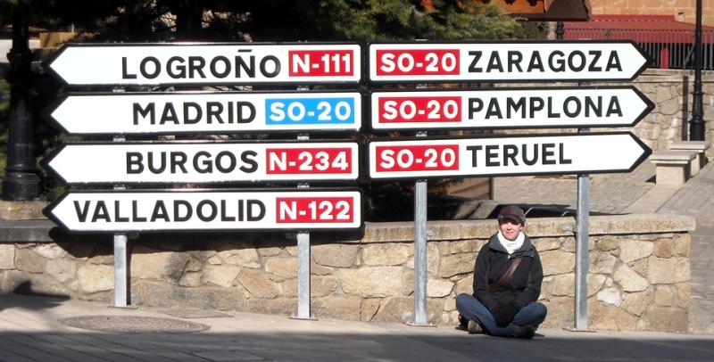 autostop w Hiszpanii