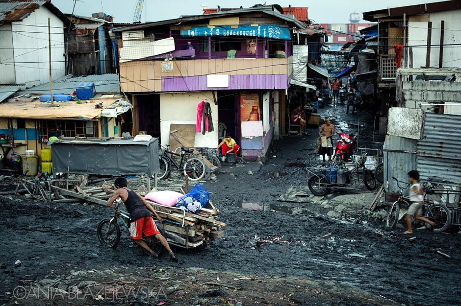 Azjatyckie dzielnice biedy