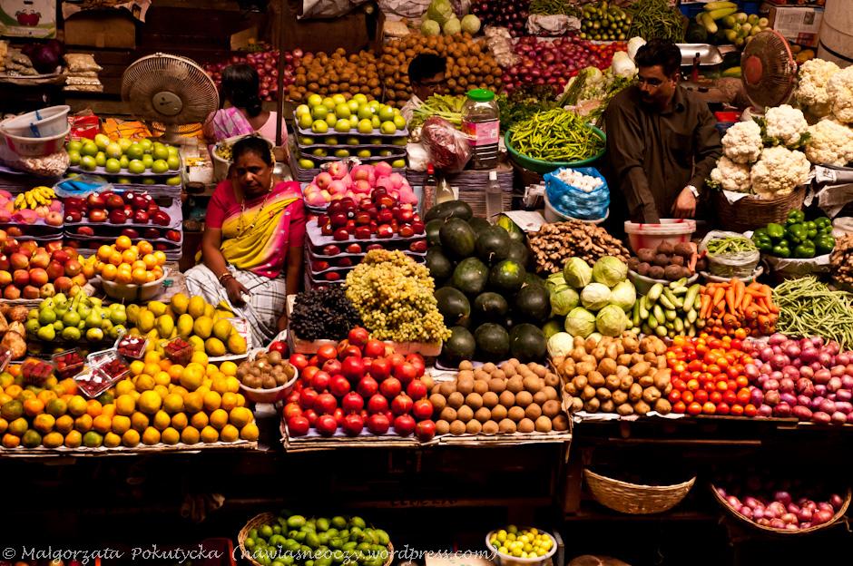 Handel uliczny w Indiach