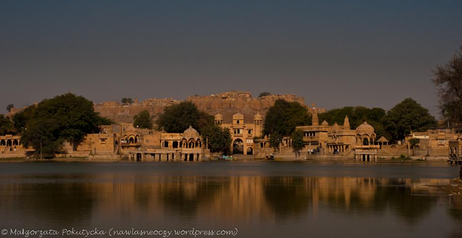 Złote miasto w Indiach