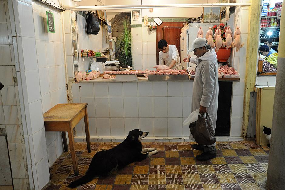 sklep mięsnyw Tangierze