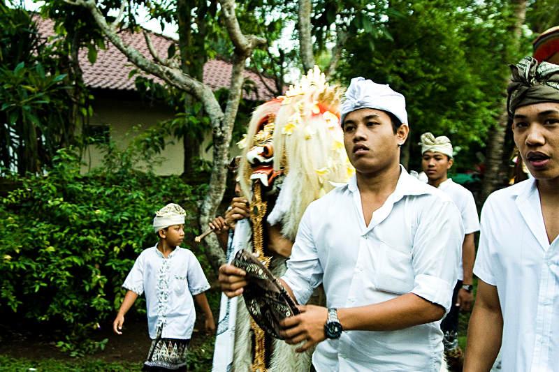 Ceremonia na indinezyjskiej wyspie Bali