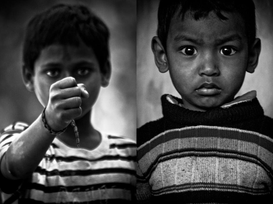 Bezdomne dzieci Nepalu