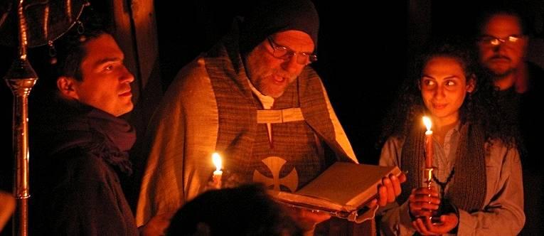 Ojciec Paolo z klasztoru Deir Mar Musa w Syrii