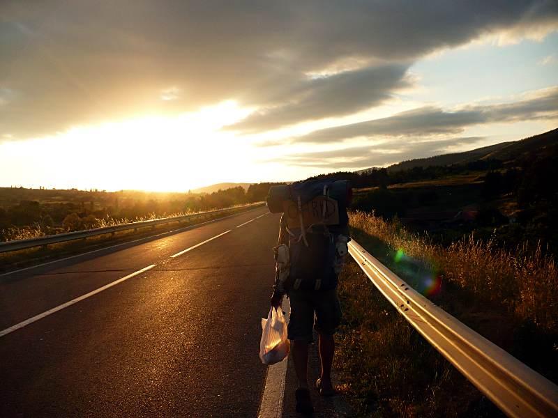 Autostop przez Macedonię