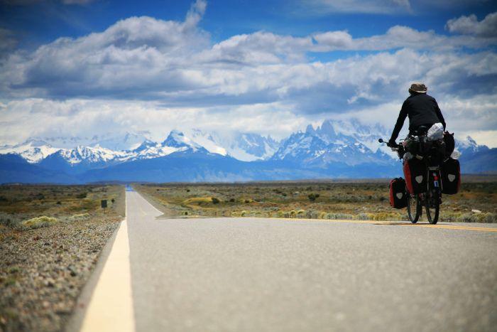 Rowerem przez Patagonię