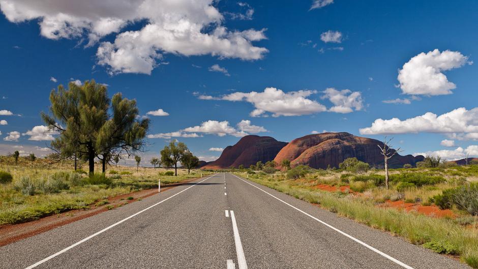 Australijski outback. Przez Kata Tjuta