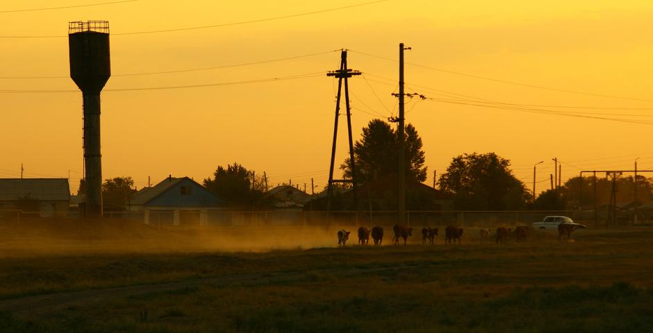 Wieczór w Kazachstanie