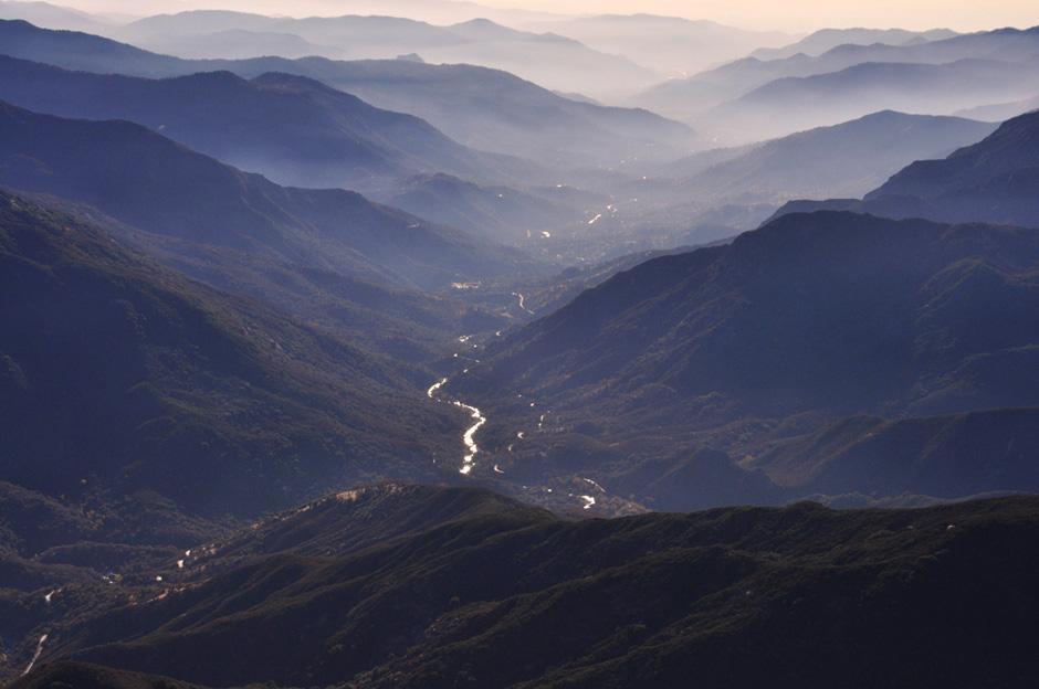 królestwo sekwoi leżące w południowej części Sierra Nevada