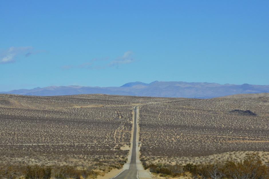 Droga przez Pustynię Mojave