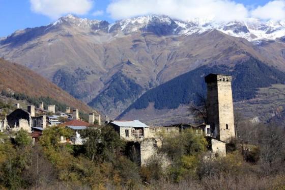 Wieże z kamienia. Gruzja