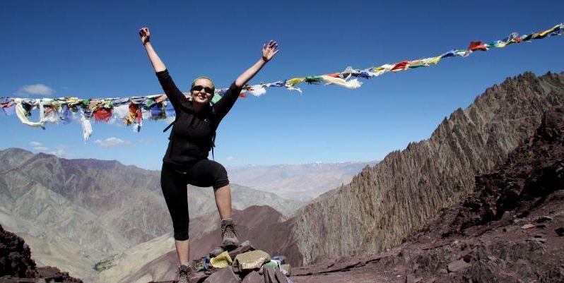 Stok La w Ladakhu