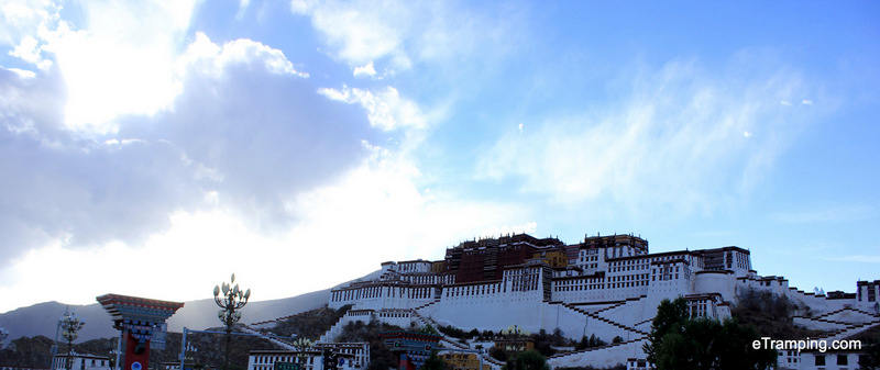 Lhasa, stolica Tybetu. Pałac Potala
