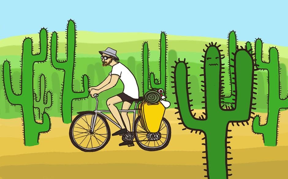 Rowerem przez pustynię Sonora w Meksyku