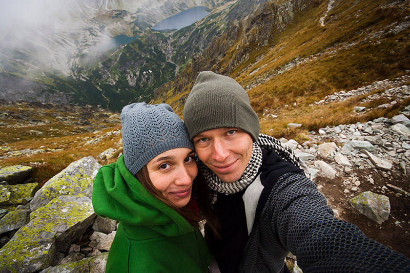 Luiza i Bartek Turek w Tatrach