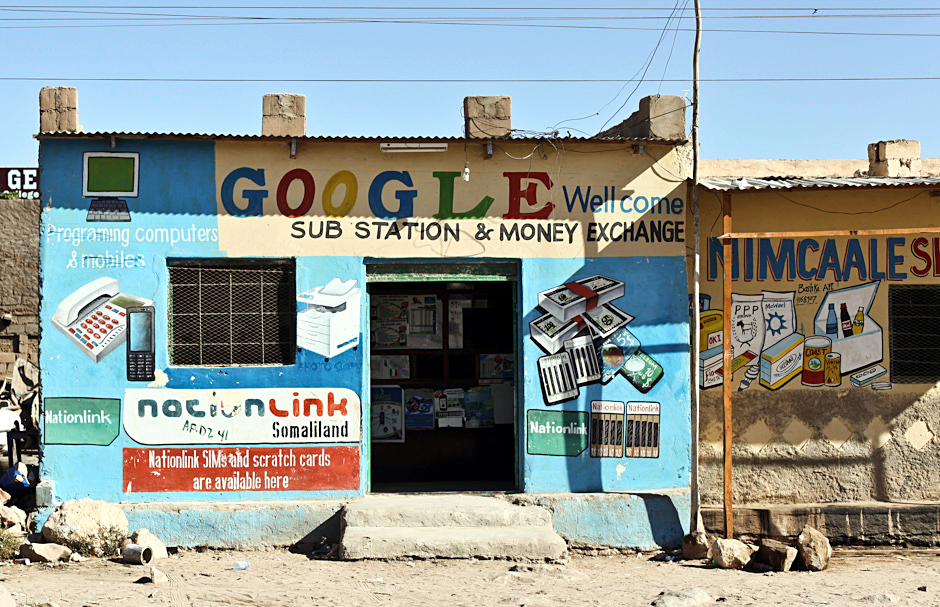 Google welcome to Somaliland