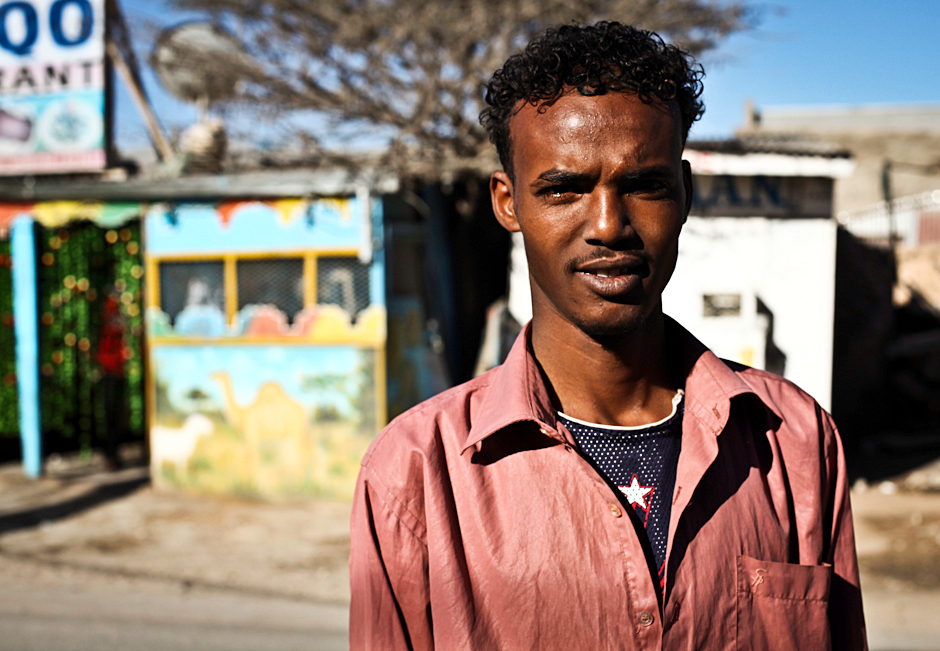 Student z Somalii. Zdjęcia z podróży do Afryki