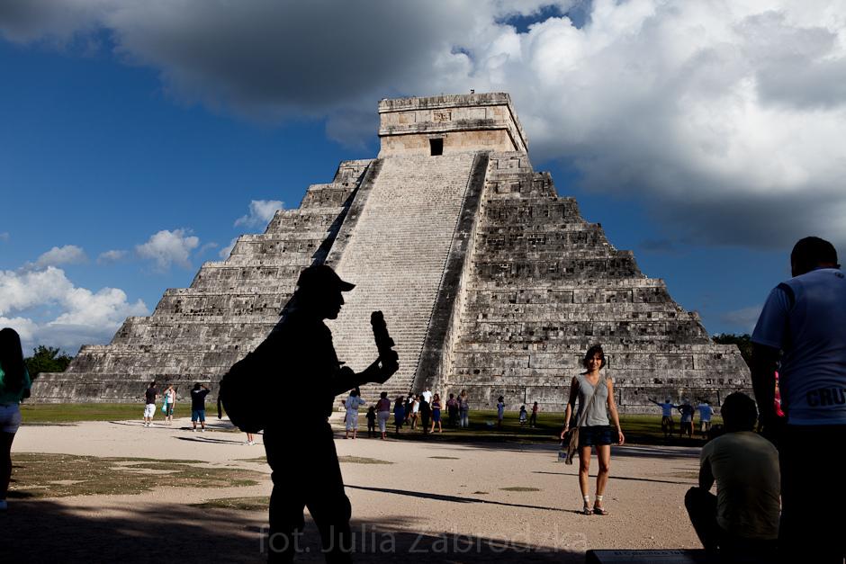 Meksyk, foto. Świątynia Majów
