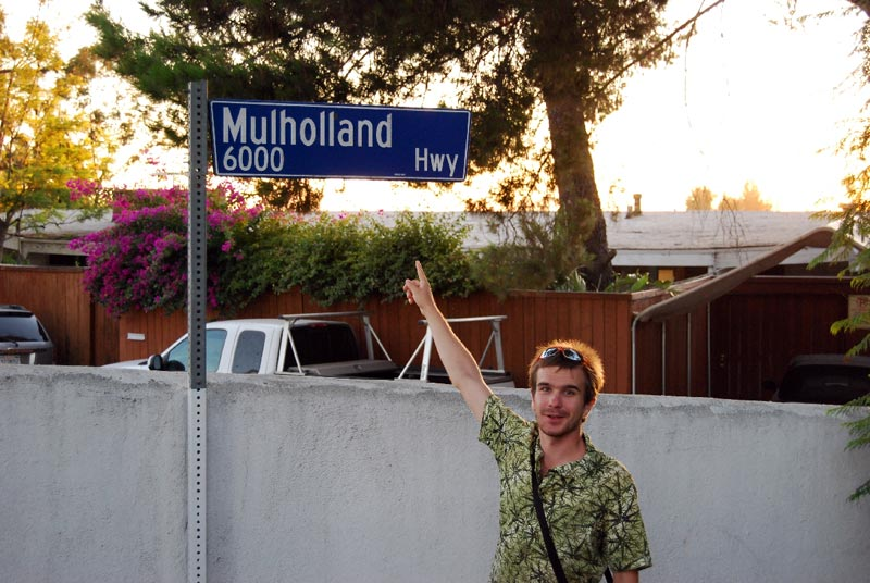 Mulholland Hwy w Los Angeles