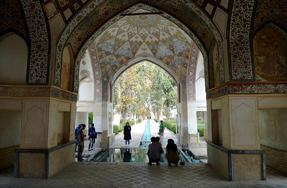 Irański ogród - zdjęcia z podróży