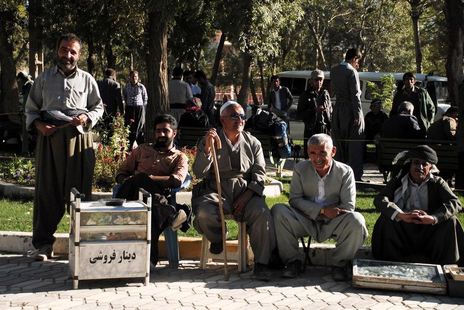 Zdj ęcie z podróży przez Irański Kurdystan