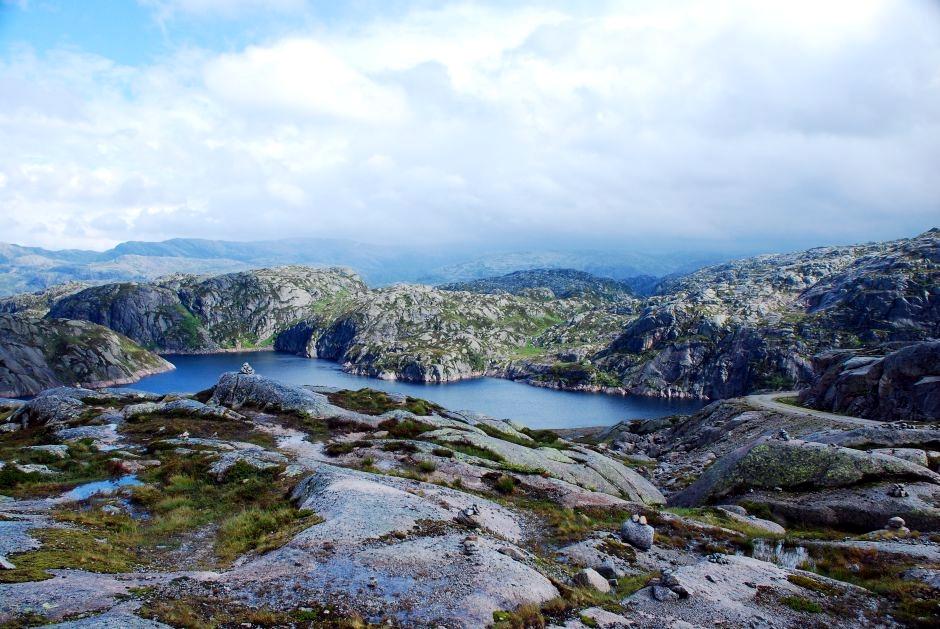 Krajobrazy Norwegii - foto
