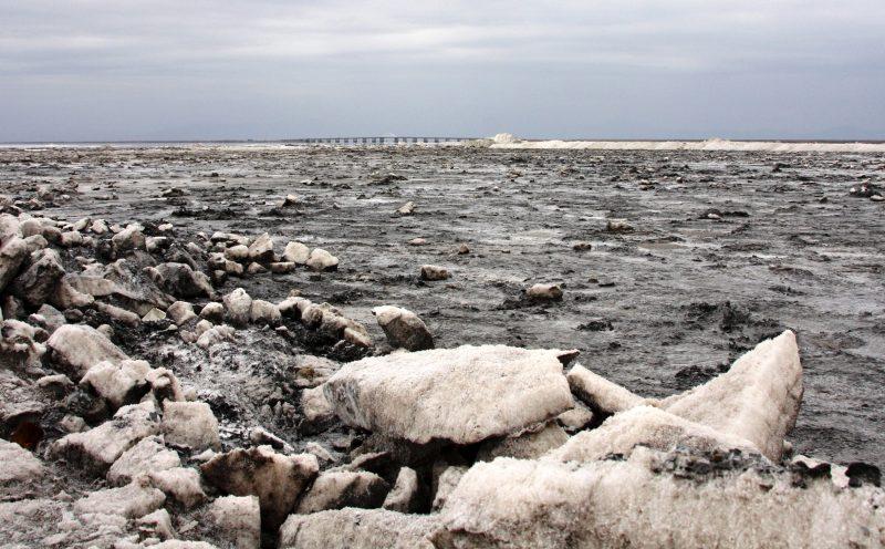 Jezioro Urmia w Iranie