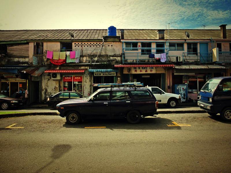 007_Malayia_Borneo_Tawau street