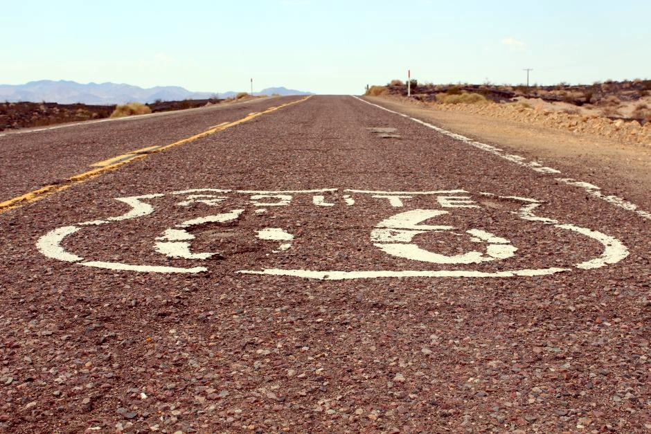 Route 66 - jedna z najsłynniejszych dróg Ameryki Północnej - foto