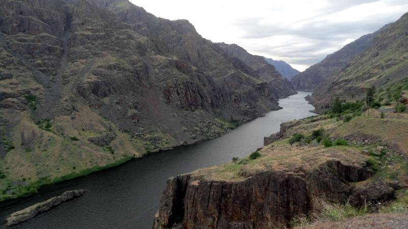 Podróż kamperem po USA - Hells Canyon w Oregonie