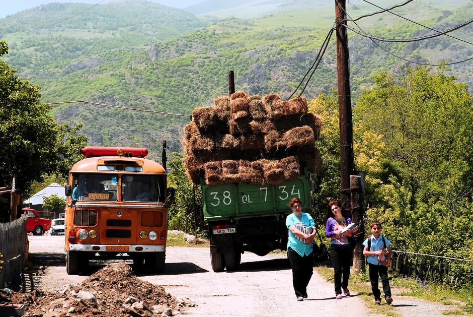 Rowerami przez Armenię - zdjęcia z wyjazdu
