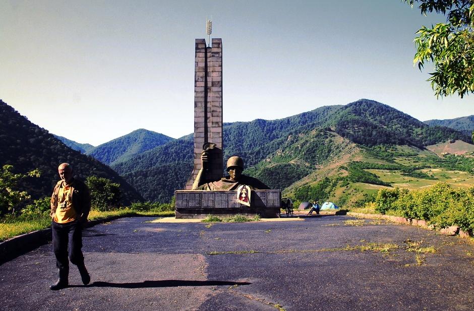 Nocleg w Armenii. foto
