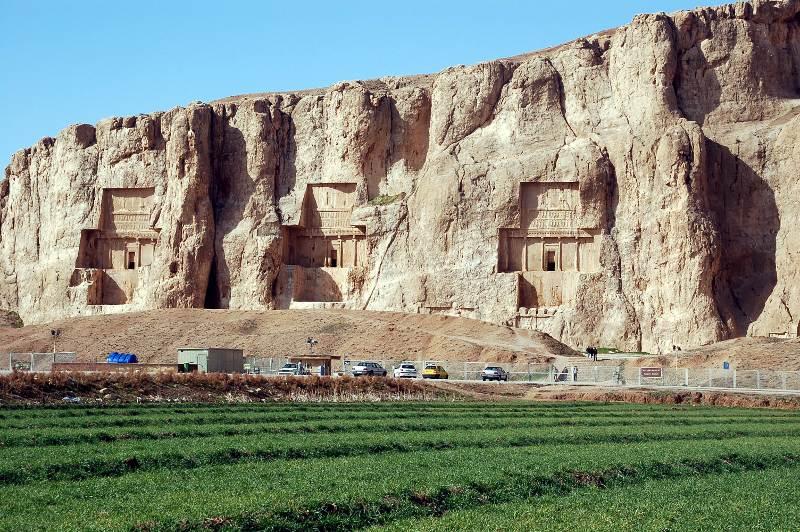 Dolina Królów w Iranie