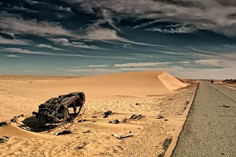 Pustynia w Mauretanii
