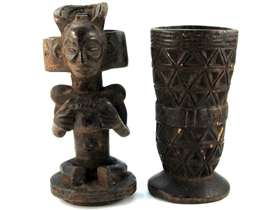 Pamiątki z podrózy do Kongo