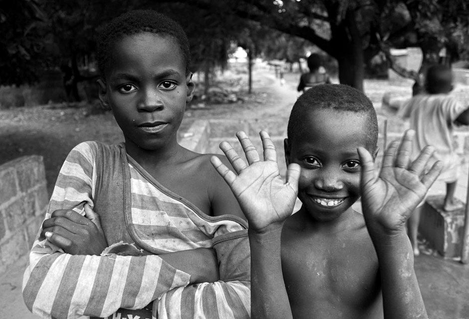 Dzieci z Burkina Faso - foto Afryka