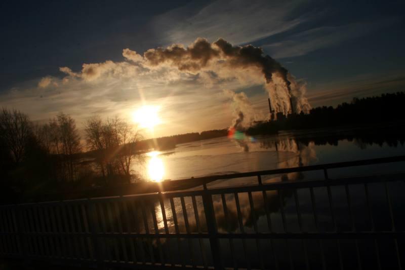 Poranek w Finlandii