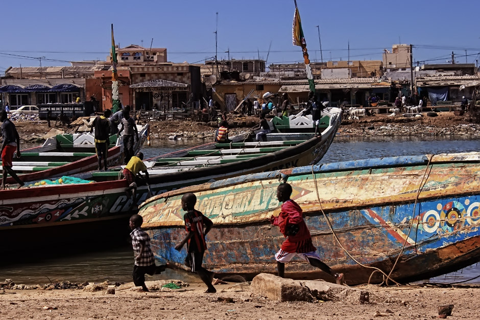 Dzieciaki z Senegalu - foto