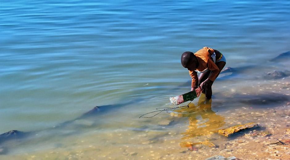 Dziecko z Senegalu - zdjęcia z Saint Louis